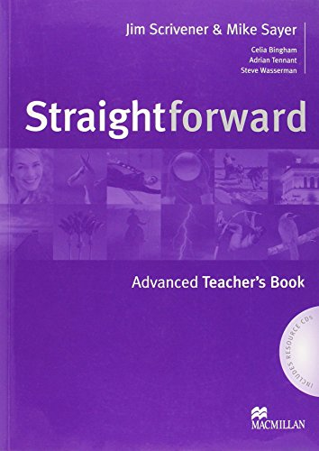 Straightforward - Teacher Book - Advanced - With Resource CDs By Jim Scrivener