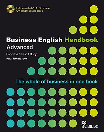 Business English Handbook Advanced By Paul Emmerson