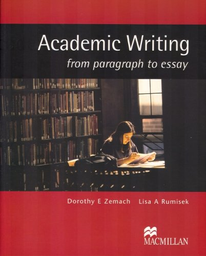 Academic Writing Student's Book by Dorothy Zemach