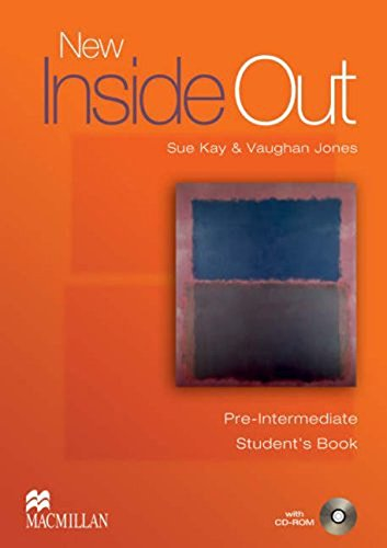 New Inside Out Student Book Pre Intermediate With CD Rom by Sue Kay