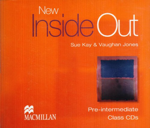 New Inside Out Pre-Intermediate Class Audio CDx3 By Sue Kay