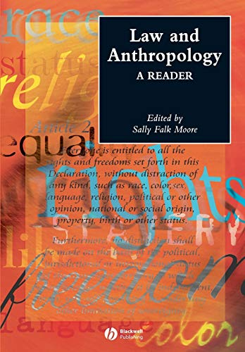 Law and Anthropology By Sally F. Moore