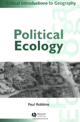 Political Ecology By Paul Robbins