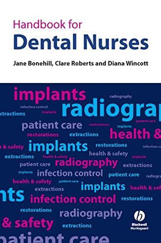 Handbook for Dental Nurses By Jane Bonehill