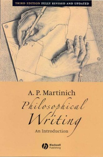 Philosophical Writing: An Introduction by Al P. Martinich