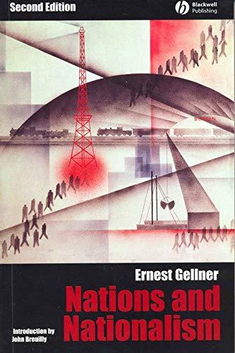 Nations and Nationalism By Ernest Gellner