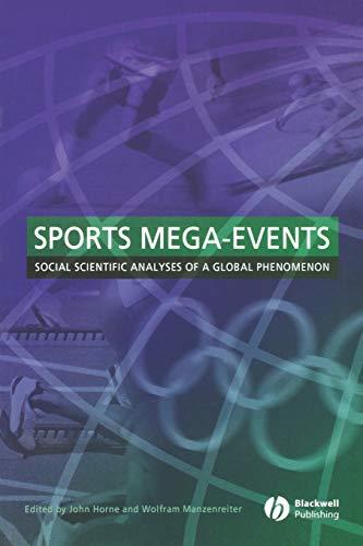 Sports Mega-Events By John Horne