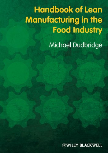 Handbook of Lean Manufacturing in the Food Industry by Michael Dudbridge