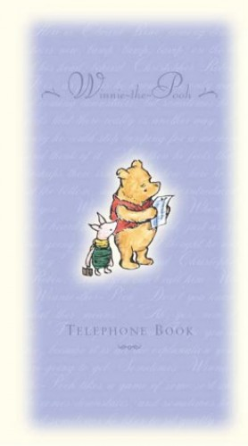 Winnie-the-Pooh Telephone Book by A. A. Milne