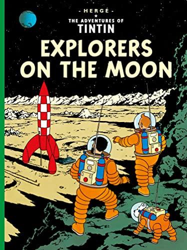 Explorers on the Moon von Herge