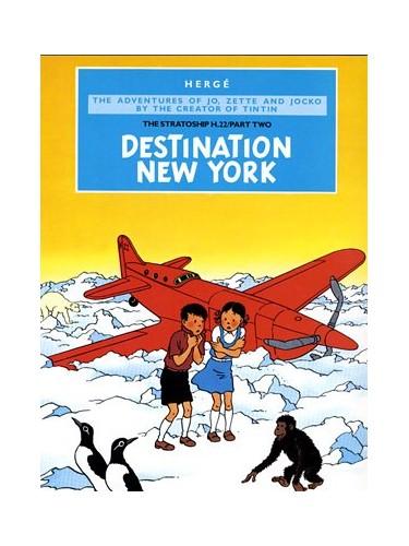 Destination New York (Jo, Zette & Jocko) By Herge