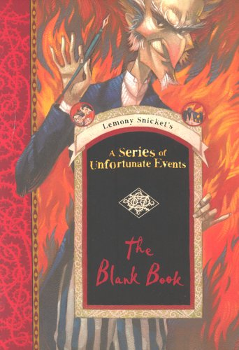 A Series of Unfortunate Events Blank Book By Lemony Snicket