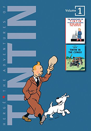 The Adventures of Tintin: Volume 1 (Compact Editions) By Herge