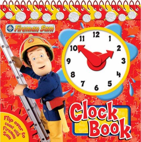 Fireman Sam Clock Book (Clock Book Range)