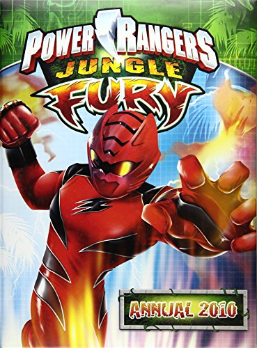 Power Rangers Jungle Fury Annual By Unknown