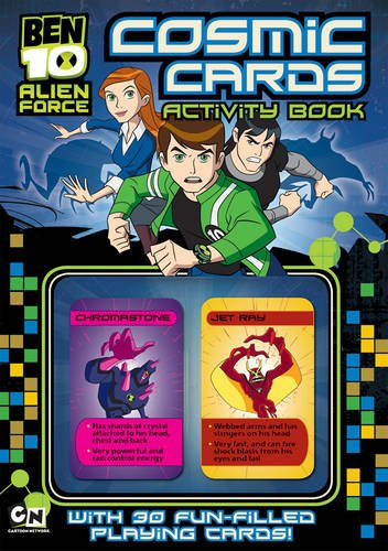 Ben 10 Alien Force Cosmic Cards Activity Book By Unknown