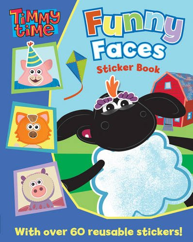 Timmy Time Funny Faces Sticker Book