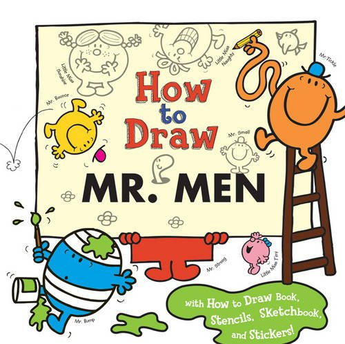How to Draw Mr. Men By Roger Hargreaves