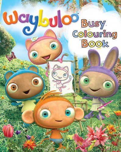 Waybuloo-Busy-Colouring-Book-Paperback-Book-The-Cheap-Fast-Free-Post