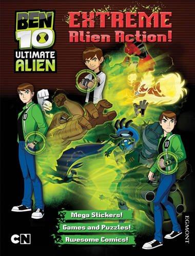 Ben 10 Ultimate Alien Extreme Alien Action! Bumper Activity Book By Ben 10