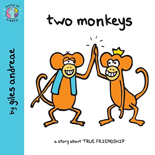 World of Happy: Two Monkeys By Giles Andreae