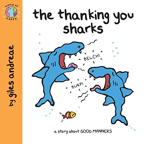 World of Happy: The Thanking You Sharks By Giles Andreae