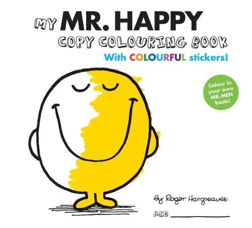 Mr Men Colour Your Own Mr Happy by