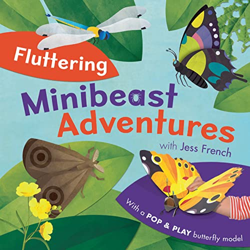 Fluttering Minibeast Adventures By Jess French