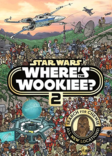 Star Wars Where's the Wookiee 2 Search and Find Activity Book (Star Wars Search & Find) By Lucasfilm Animation