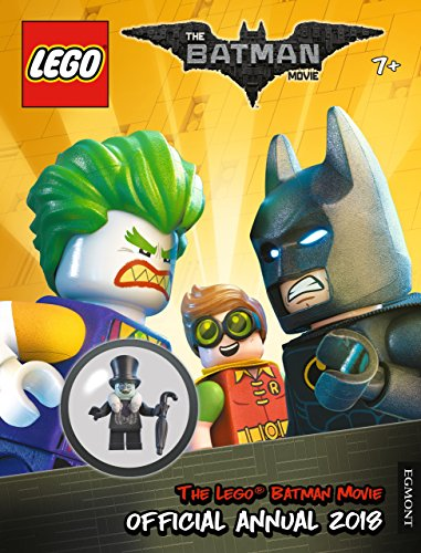 THE LEGO (R) BATMAN MOVIE: Official Annual 2018 By Egmont Publishing UK
