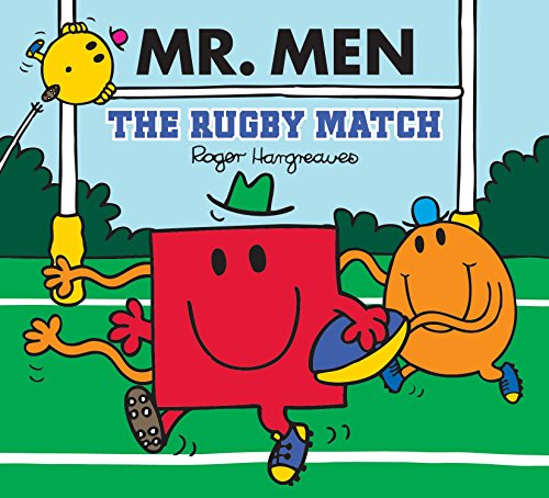 Mr Men: The Rugby Match By Adam Hargreaves