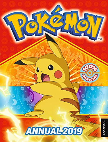 Official Pokemon Annual 2019 By Prepared for publication by Egmont Publishing UK