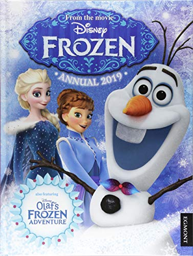 Disney Frozen Annual 2019 By Prepared for publication by Egmont Publishing UK