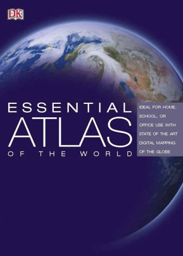 Essential Atlas of the World By DK