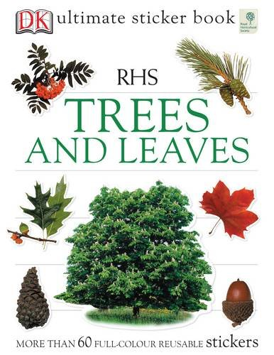 RHS Trees and Leaves Ultimate Sticker Book By Ben Hoare