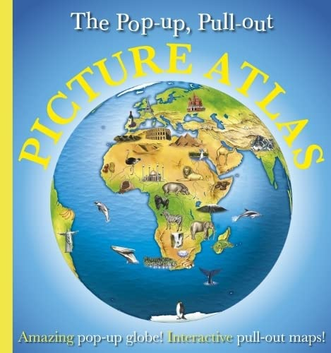 Pop-Up, Pull-Out, Picture Atlas by DK