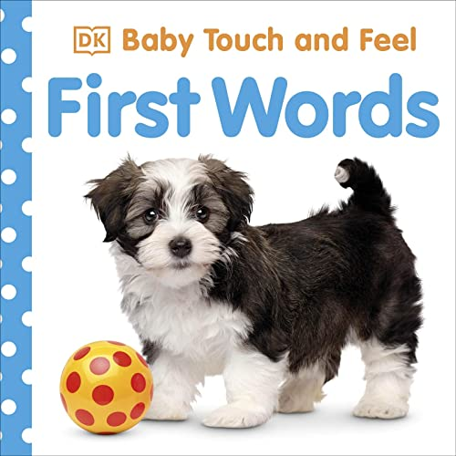 Baby Touch and Feel First Words By DK