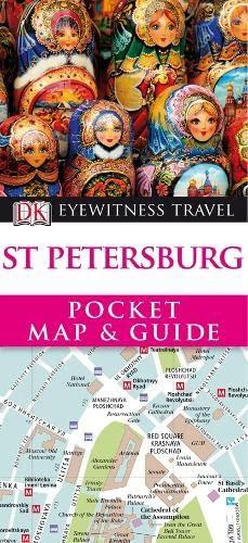 DK Eyewitness Pocket Map and Guide: St Petersburg By Kindersley Dorling
