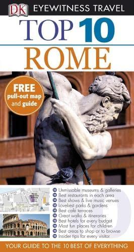 DK Eyewitness Top 10 Travel Guide: Rome By Reid Bramblett