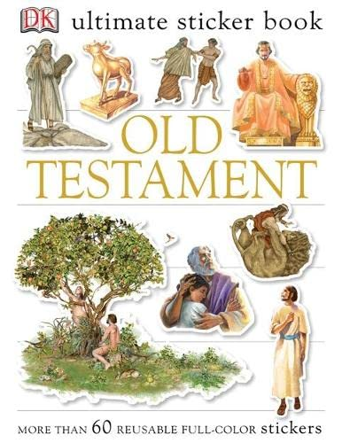 Old Testament Ultimate Sticker Book By DK