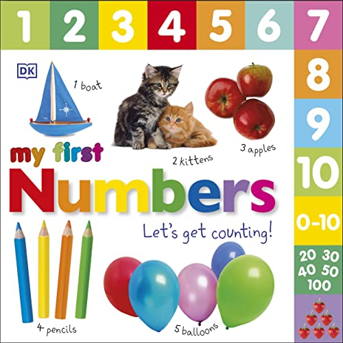 My First Numbers Let's Get Counting By DK