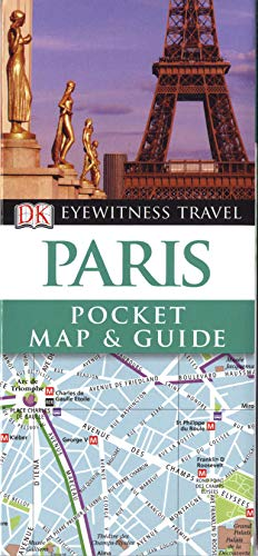 DK Eyewitness Pocket Map and Guide: Paris by