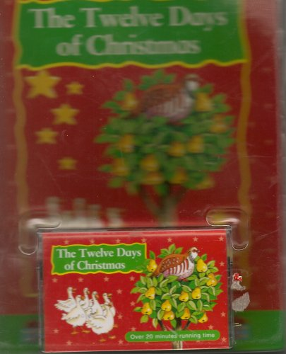 Twelve Days Of Christmas Book.Twelve Days Of Christmas Christmas Book Tape