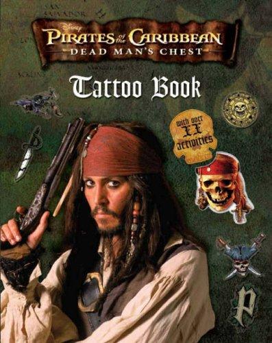 "Disney ""Pirates of the Caribbean"" Tattoo Book"