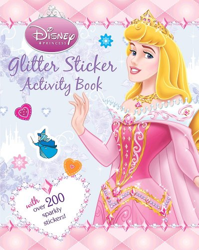 Disney Princess Glitter By Parragon Books