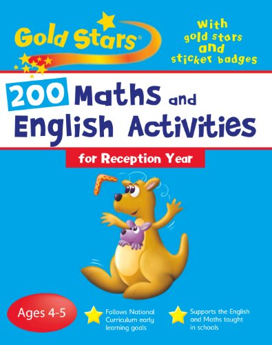 200 Maths and English Activities By Parragon Books - Gold Stars