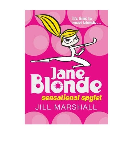Jane-Blonde-Sensational-Spylet-by-Marshall-Jill-Paperback-Book-The-Cheap-Fast