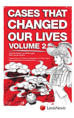 Cases That Changed Our Lives By Ian McDougall