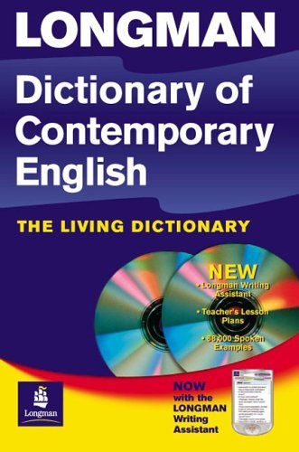 Longman Dictionary of Contemporary English 4th Edition 2005 Update Flexi and CD-Rom