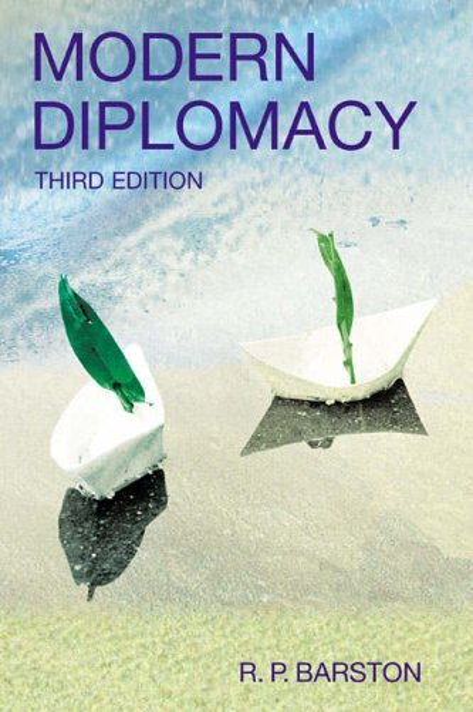 Modern Diplomacy By R. Barston